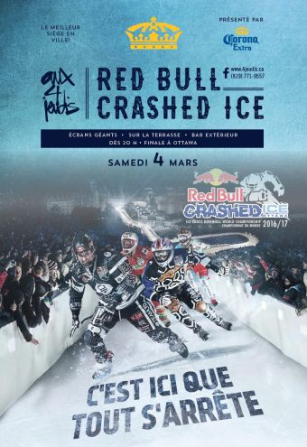 Le Red Bull Crashed Ice aux 4 jeudis!